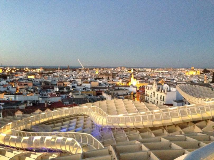 Sevilla from the top