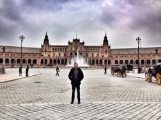 Fulvio at Plaza de España