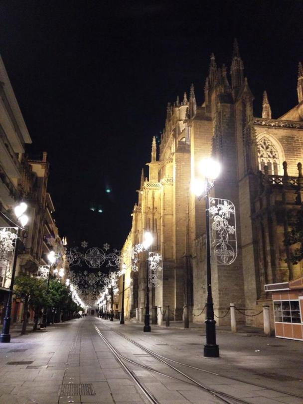 Sevilla at night
