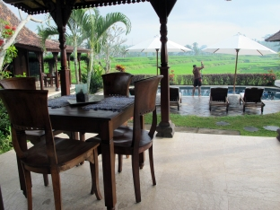 Rumah Capung private terrace