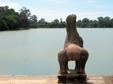 Angkor Wat sculptures