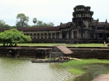 The temples and the water