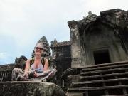 Ana in Angkor Wat