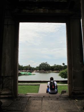 Fulvio meditating