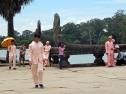 Cambodian wedding photo-shooting