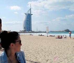The sail, Dubai