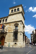 Historic buildings, Leon