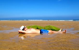 Fulvio at Playa de Vega, Asturias