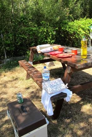 Camping at Ribdesella, Asturias