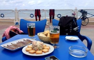 Tapas on the seaside