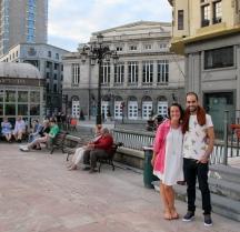 Ana and Alberto at Oviedo