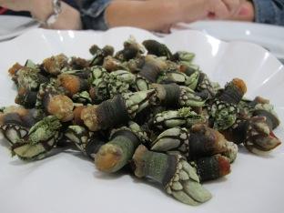 tipical seafood at galicia