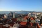 Vistas desde la terraza del hotel de Vigo