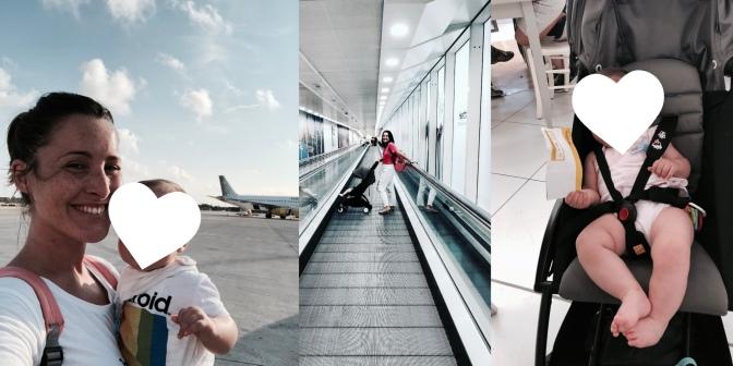 Volar con un bebé: El equipaje